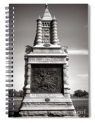 Gettysburg National Park 6th New York Cavalry Monument Spiral Notebook