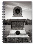 Gettysburg National Park 80th New York Infantry Militia Monument Spiral Notebook