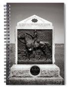 Gettysburg National Park 9th New York Cavalry Monument Spiral Notebook