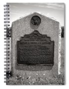 Gettysburg National Park Army Of The Potomac Second Brigade Horse Artillery Spiral Notebook