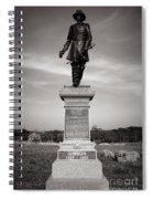 Gettysburg National Park John Gibbon Monument Spiral Notebook