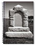 Gettysburg National Park Third West Virginia Cavalry Monument Spiral Notebook