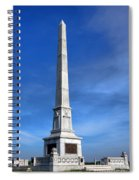 Gettysburg National Park United States Army Regulars Memorial Spiral Notebook