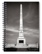 Gettysburg National Park United States Army Regulars Monument Spiral Notebook