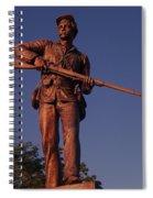 Gettysburg Statue Spiral Notebook