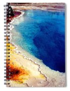 Geyser Basin Spiral Notebook