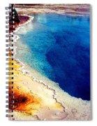 Geyser Basin Spiral Notebook