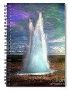 The Great Geysir - Iceland Spiral Notebook