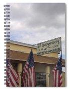 G.f. Spangenberg Gun Shop Tombstone Arizona 2004 Spiral Notebook