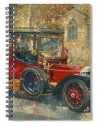 Ghost - Hawton Spiral Notebook
