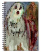 Ghost 1  Spiral Notebook