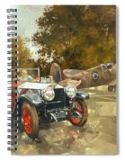 Ghost And Spitfire  Spiral Notebook