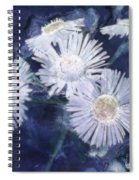 Ghost Flowers Spiral Notebook