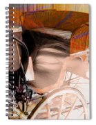 Ghost In The Carriage House Spiral Notebook