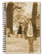 Ghost In The Graveyard Spiral Notebook