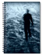 Ghost In The Snow Spiral Notebook