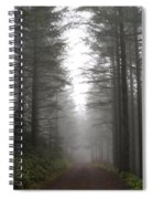 Ghost In The Woods Spiral Notebook