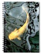 Ghost Koi Carp Fish Spiral Notebook