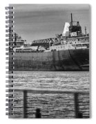 Ghost Of American Fortitude Spiral Notebook