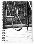 Ghost On A Swing Spiral Notebook