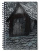Ghost Rain Spiral Notebook