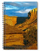 Ghost Ranch At Sunset, Abiquiu, New Spiral Notebook