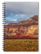 Ghost Ranch Red Spiral Notebook