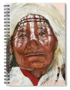 Ghost Shaman Spiral Notebook