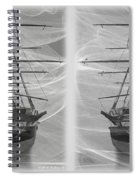 Ghost Ship - Gently Cross Your Eyes And Focus On The Middle Image Spiral Notebook