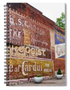 Ghost Signs In Radford Virginia Spiral Notebook