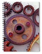 Ghost Spiral Notebook