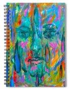 Ghost Tears Spiral Notebook
