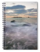 Ghost Tides Spiral Notebook