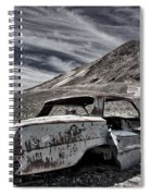 Ghost Town Junked Car Spiral Notebook