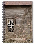 Ghostly Abndoned House Spiral Notebook