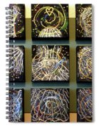 Ghostly Angels C Spiral Notebook