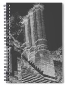 Ghostly Heights Spiral Notebook