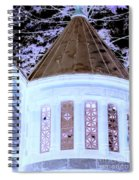 Ghostly Heights Manor Spiral Notebook