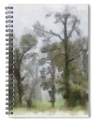Ghostly Images Spiral Notebook