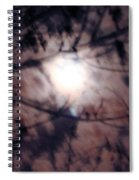 Ghostly Moon Spiral Notebook