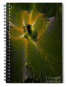 Ghostly Spirit Spiral Notebook