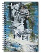 Ghostrider Reflection Spiral Notebook