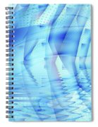 Ghosts In The Pool Spiral Notebook