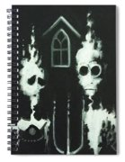 Ghosts Of American Gothic Spiral Notebook