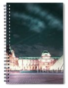 Ghosts Of The Louvre Museum 2  Art Spiral Notebook
