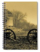 Ghosts Of Vicksburg Spiral Notebook