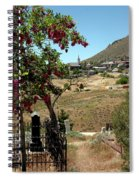 Ghosts Path To A Ghost Town Virginia City Nv Spiral Notebook