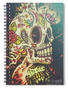 Ghoul Of Gothic Glam  Spiral Notebook