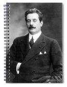 Giacomo Puccini, Italian Composer Spiral Notebook