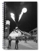 Giant Flamethrowing Praying Mantis Spiral Notebook
